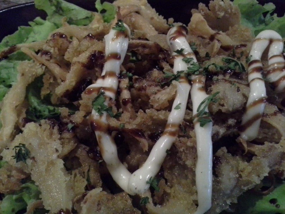 Crispy Mushroom...it was bit oily...;(